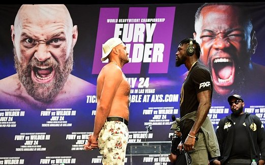 Image for Tyson Fury Tests Positive for COVID-19, Out of Deontay Wilder Trilogy