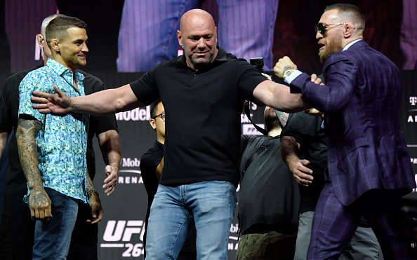 Image for UFC 264 Press Conference Recap: Provocative Conor McGregor Is Back