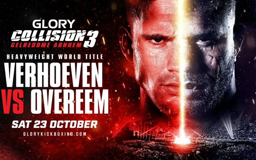Image for Rico Verhoeven vs. Alistair Overeem Booked in GLORY Kickboxing