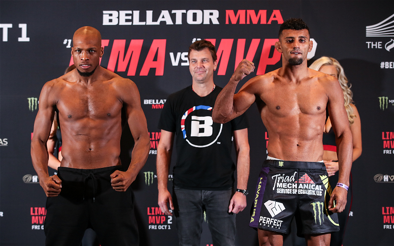Image for Bellator 267 Weigh In Results