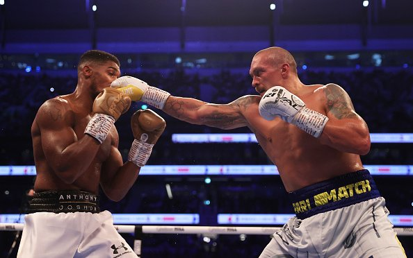 Image for Usyk Shakes Things Up, Bullies Joshua in a Decision Win