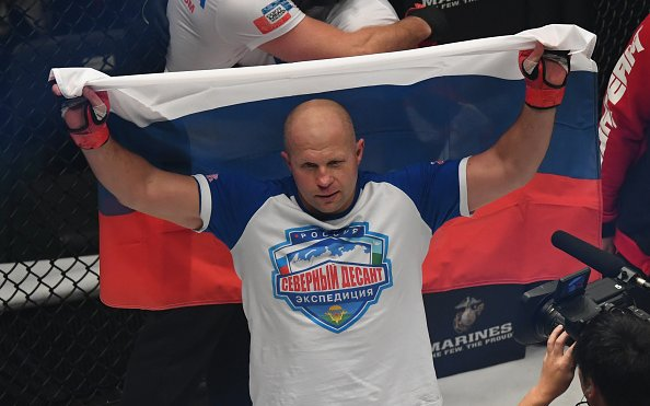 Image for Fedor Emelianenko Gets First-Round Knockout in Russia