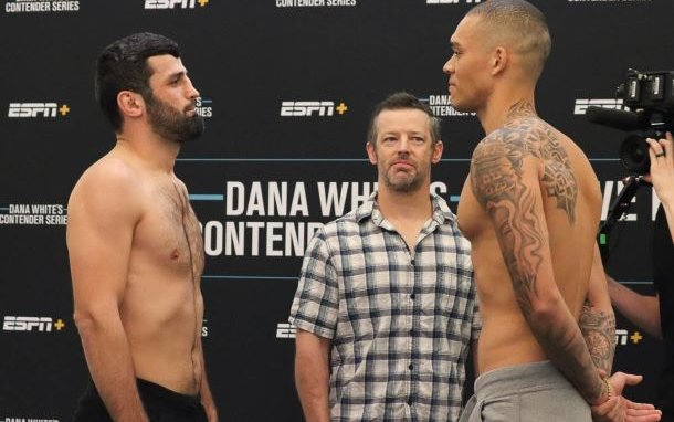 Image for Dana White's Contender Series 45 Results